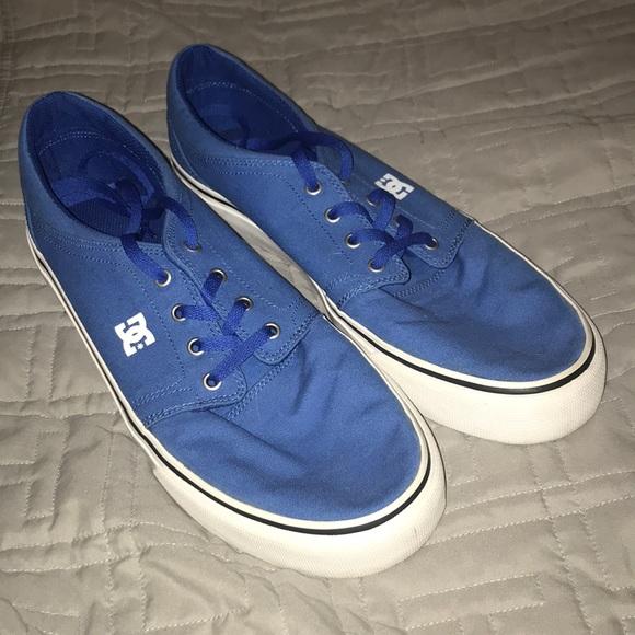 DC Shoes | Blue Dc Shoes | Poshmark